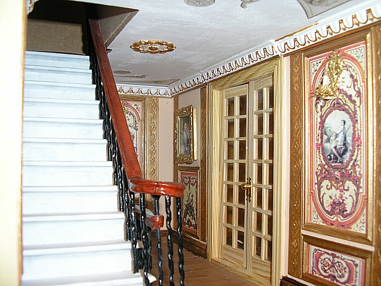 Staircase to the 2nd Floor prior to completion